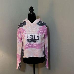 Girls Justice cropped hoodie